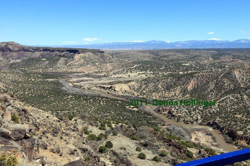 Indian Mesa land, Bandelier Overlook