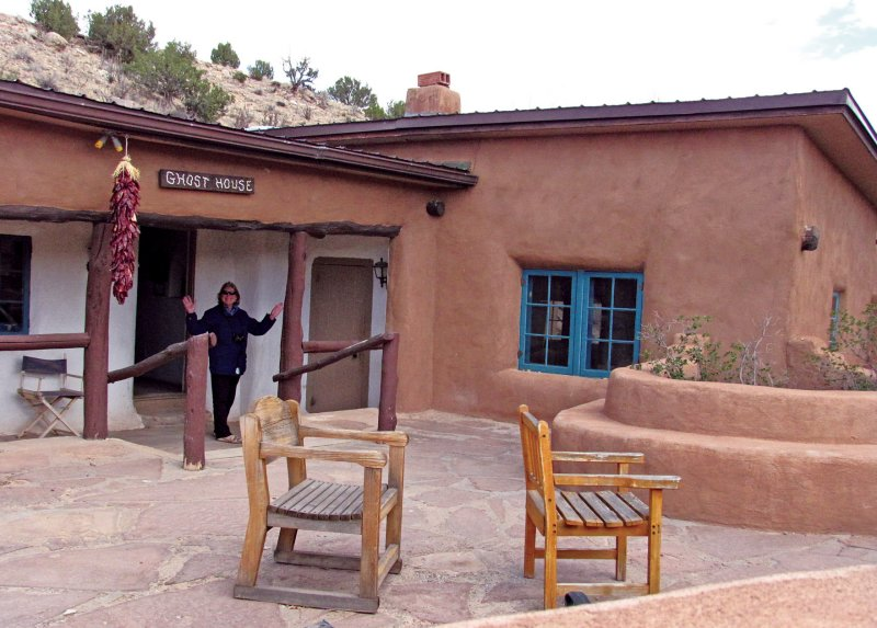 Sally at Ghost Ranch