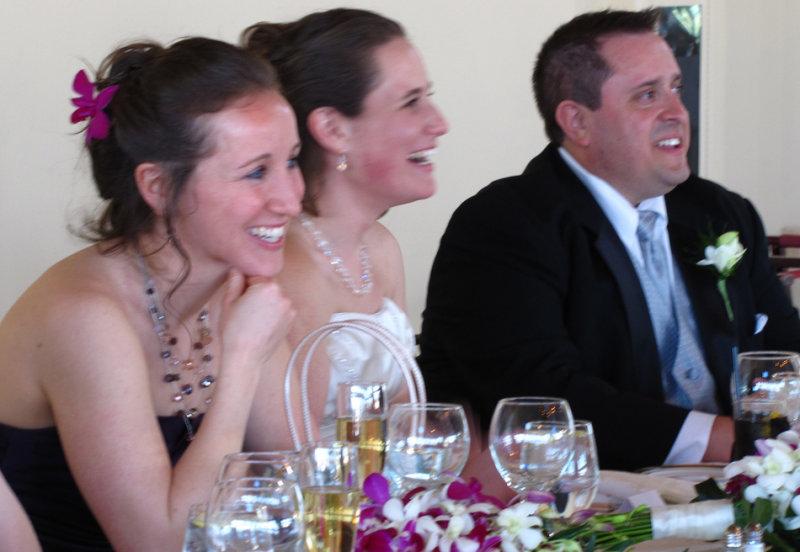 Julia, Audrey and Chris