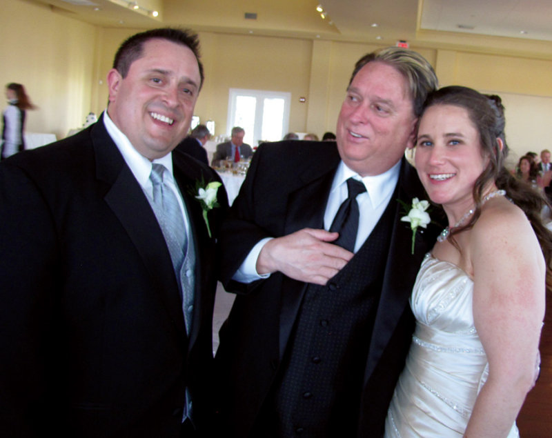 Chris, Chriss Dad and Audrey