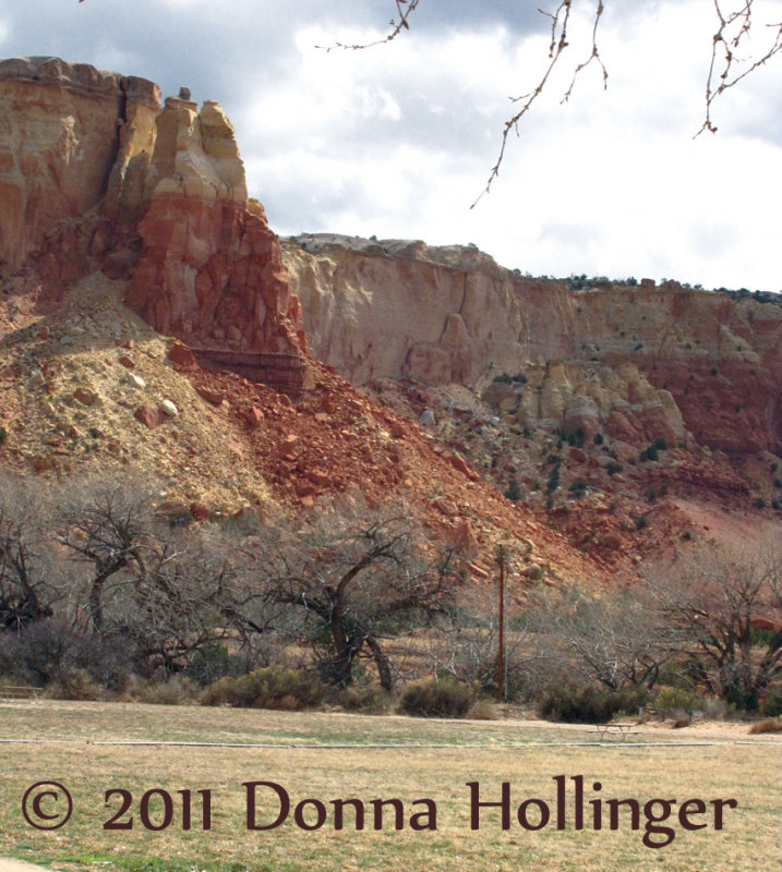 Ghost Ranch Canyon Wall