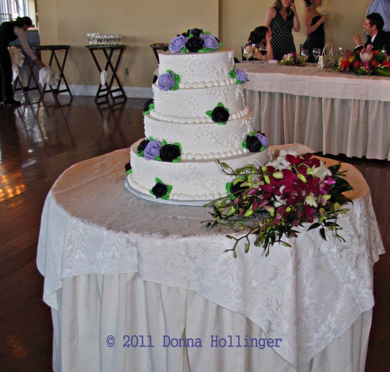 The Perfect Wedding Cake