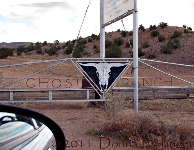 Ghost Ranch Gate