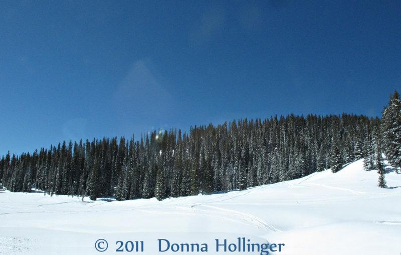 April Snow at Wolfrun