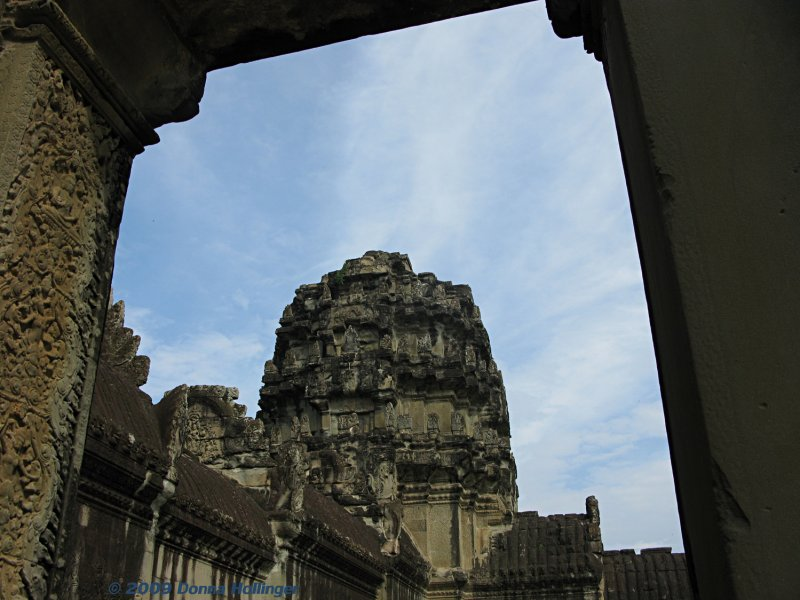 Bayon,Through a very large Doorway