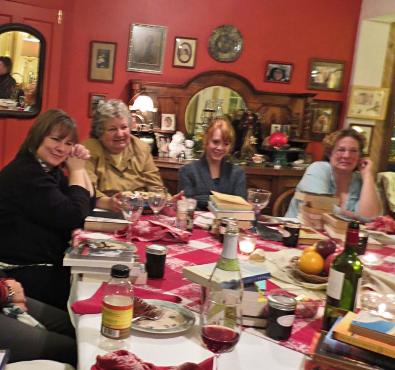 Vermont Bookclub at Christmas
