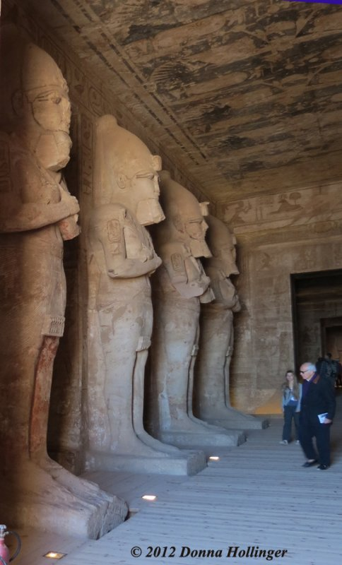 Inside RamsesTemple as [Ramses] as Osiris (wearing the crook and flail)