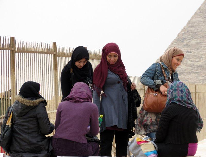 Headscarves and Denim