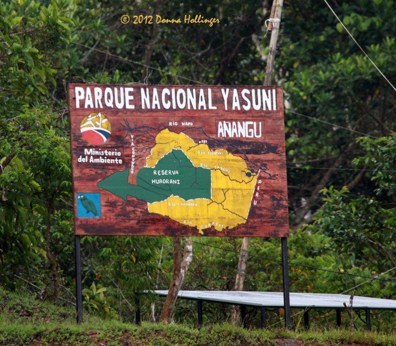 Yasuni Tribe Maintains This Reserve