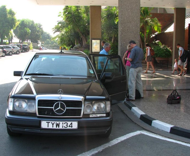 Mercedes for touring