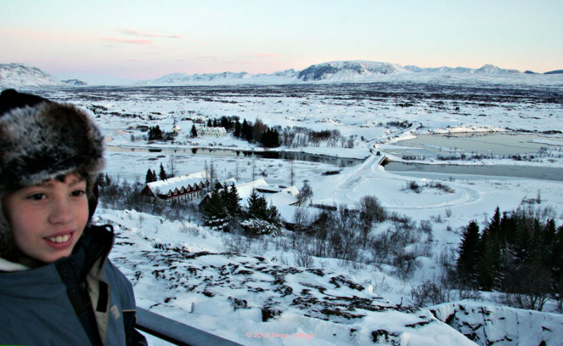 What I did in Iceland!