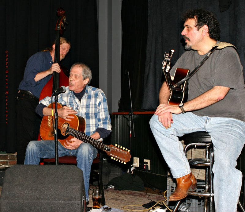 Paul, Spider, and Henry Singing