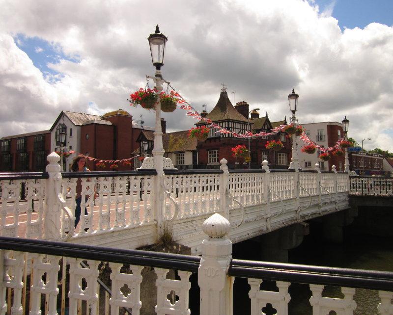 High  Street  Bridge, oblique  view.