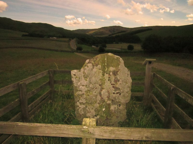 The  Yarrow  Stone , in  situ .