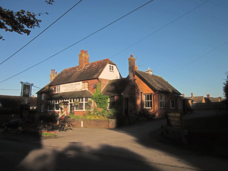 The  Foresters  Arms  pub.