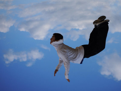 diving into the sky