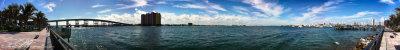 Blue Heron Bridge Panorama