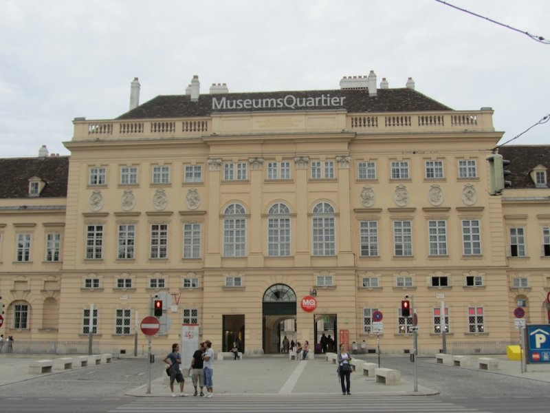 at the Museums Quartier