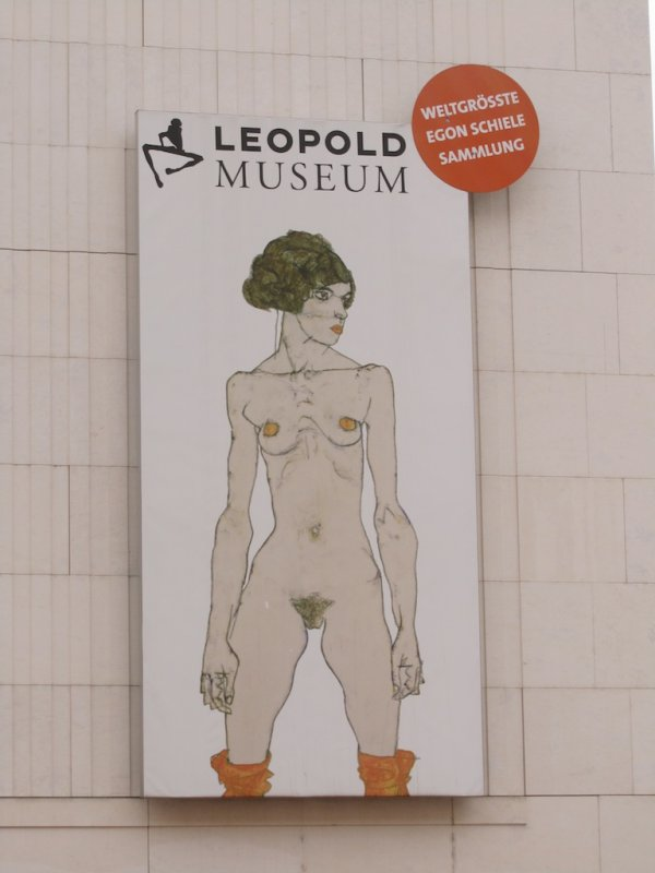 on to the Leopold, home to many Schiele paintings