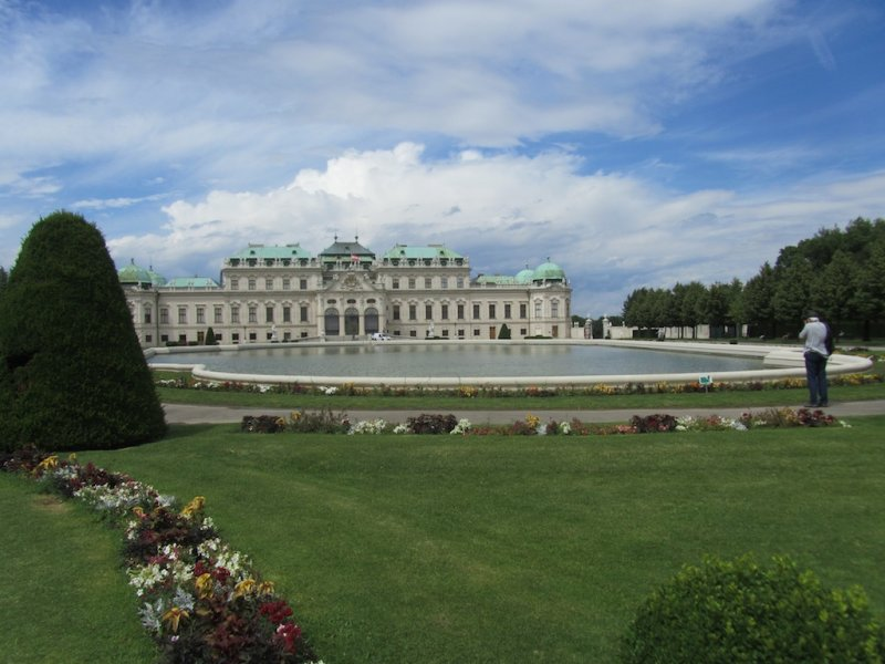 at the Belvedere: more Klimt and Schiele...