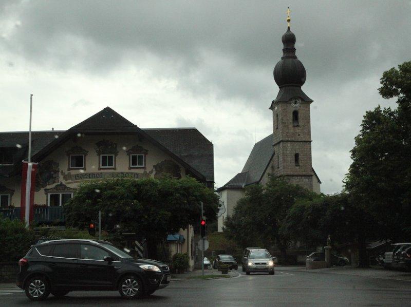 leaving Salzburg via St. Leonhard