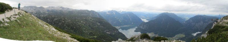 panorama: from the Dachstein lookout