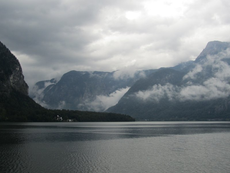 up early in Hallstatt for a long drive today