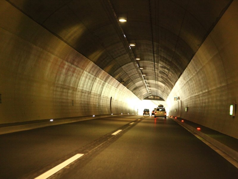 even the tunnels are interesting