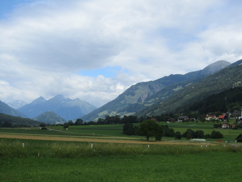 off the main roads, following the Möll river...
