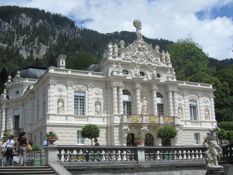 at Linderhof, the residence of Ludwig II of Bavaria