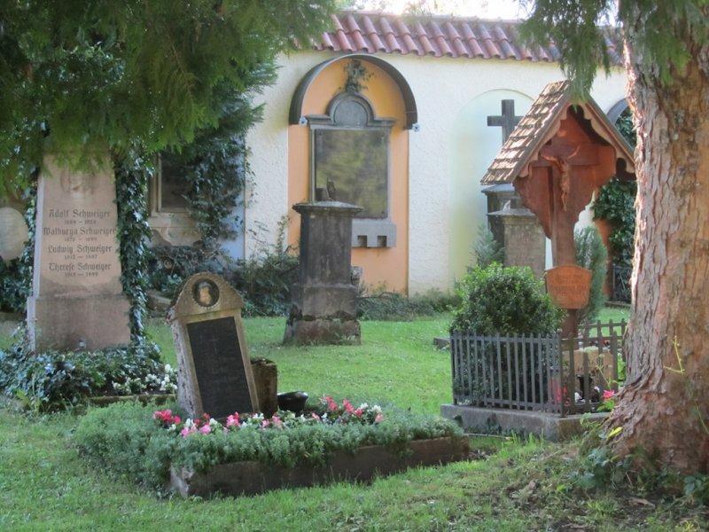 the St. Sebastian cemetery
