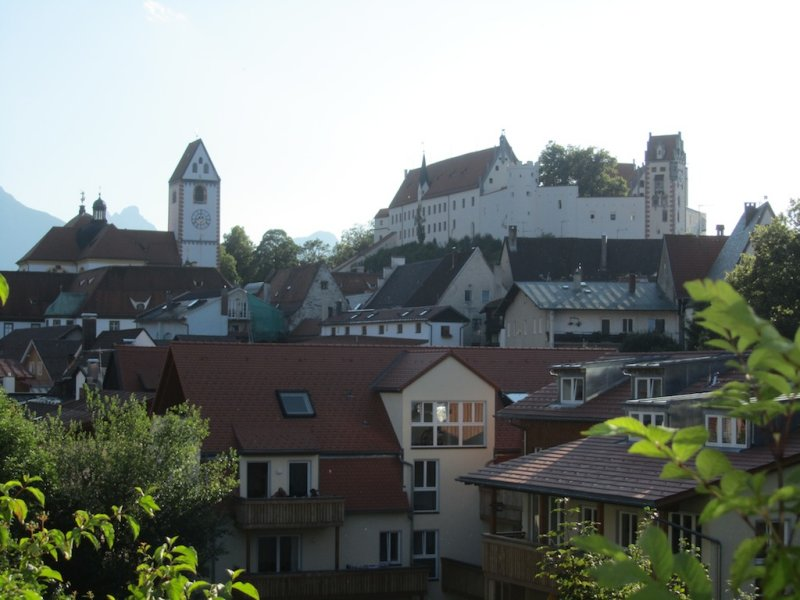 the towns late Gothic high castle