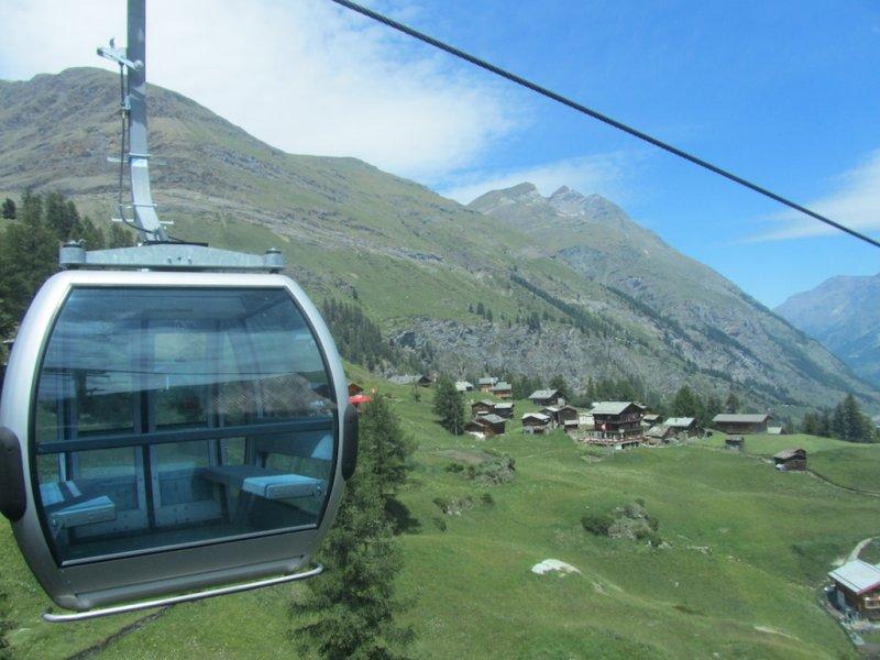 heading back down to Zermatt...