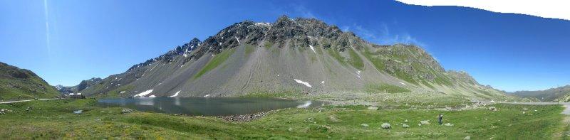 panorama: near the Flüela Pass