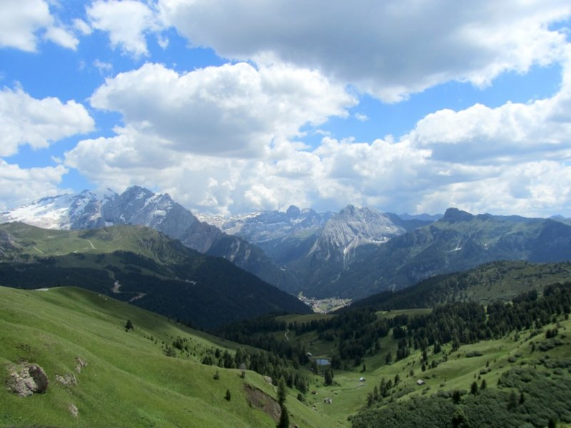 another stop at the Passo Sella, at 2240m