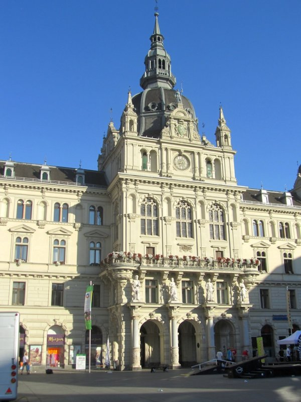 ...home to the town hall