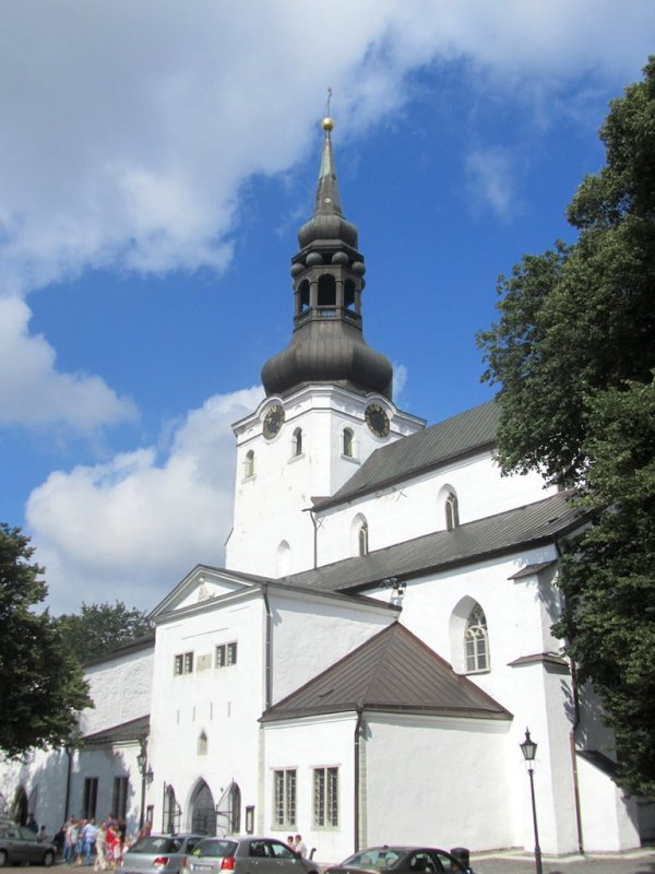 the Dome church, in the upper old town