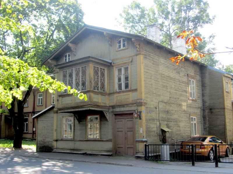 ...home to many 19th c. wooden houses