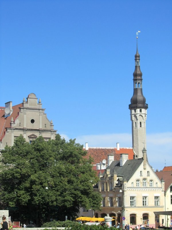 a last view toward old town...