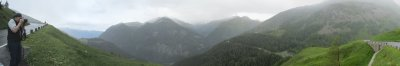 panorama: Grossglockner Hochalpenstrasse south