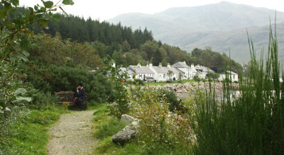 Path to Inverie, possibly the remotest village in Britain