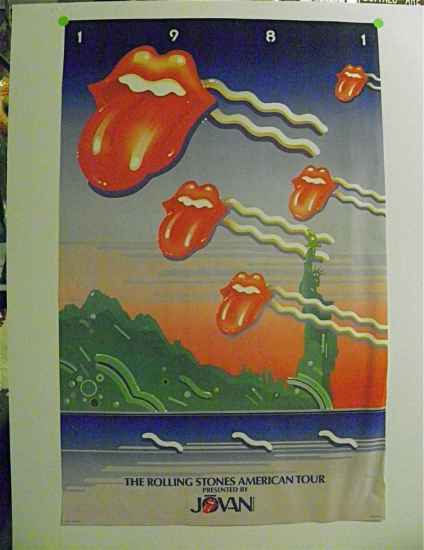 Poster: The Rolling Stones - American Tour 1981