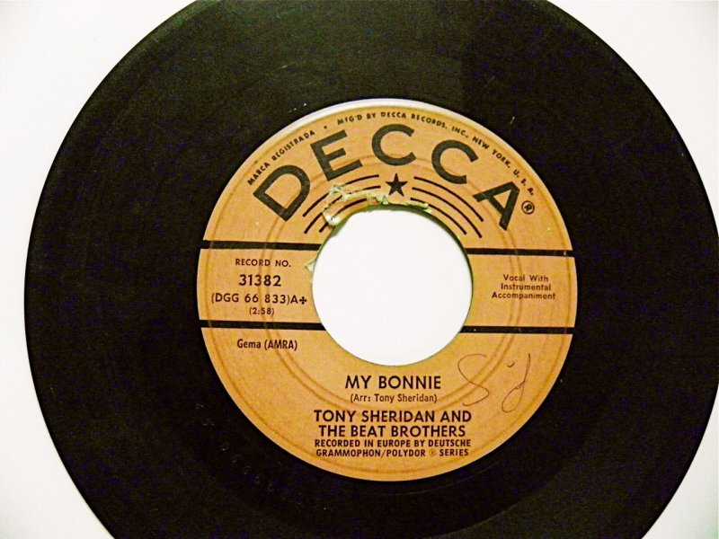 Tony Sheridan and The Beat Brothers (a.k.a. THE BEATLES) 45