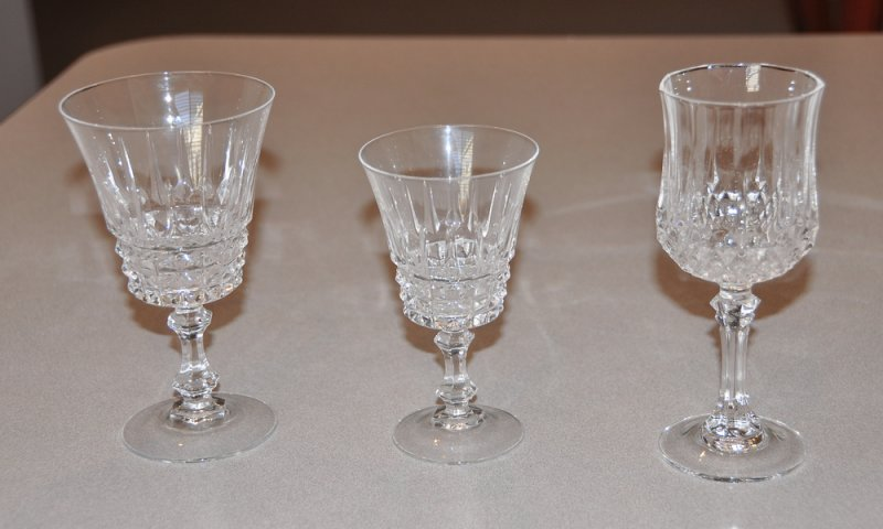 Wine Glasses Crystal Vs Glass Ar15 Com