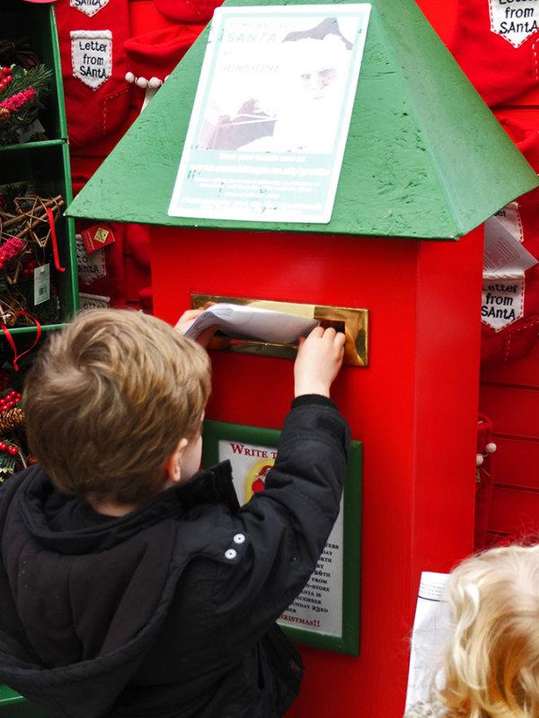 Posting Letter To Santa