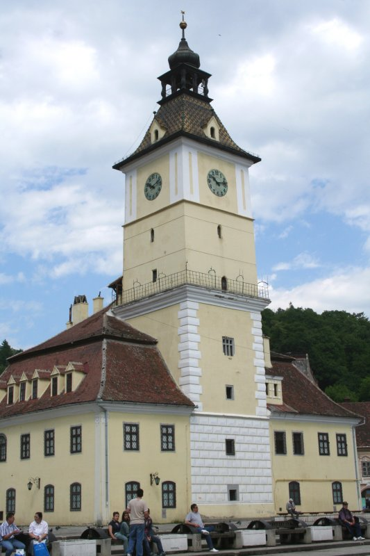 The Historical Museum tells the story of the Saxon guilds who used to dominate Brasov.