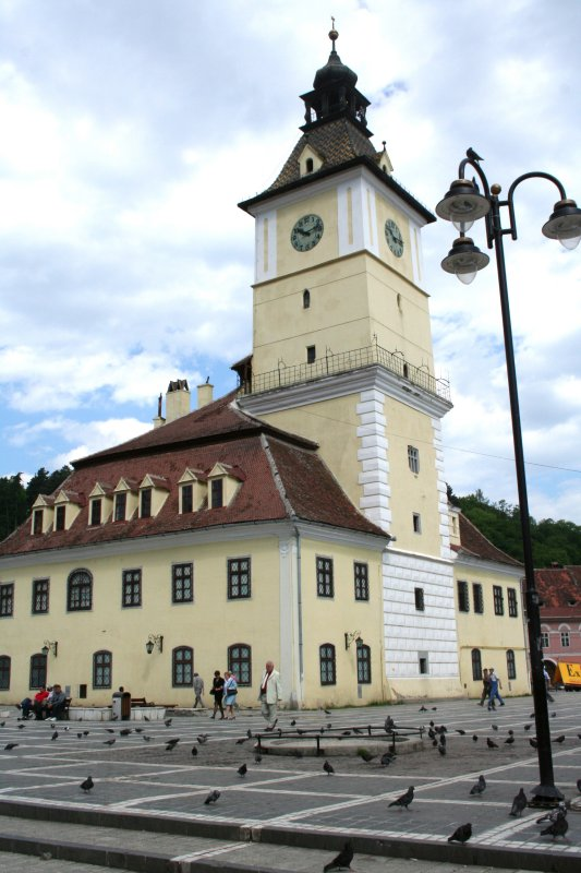 Council House now houses the Brasov Historical Museum.