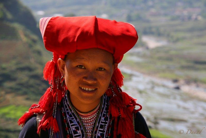 A Red Dzao in Sapa.