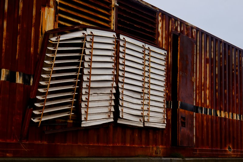Old container