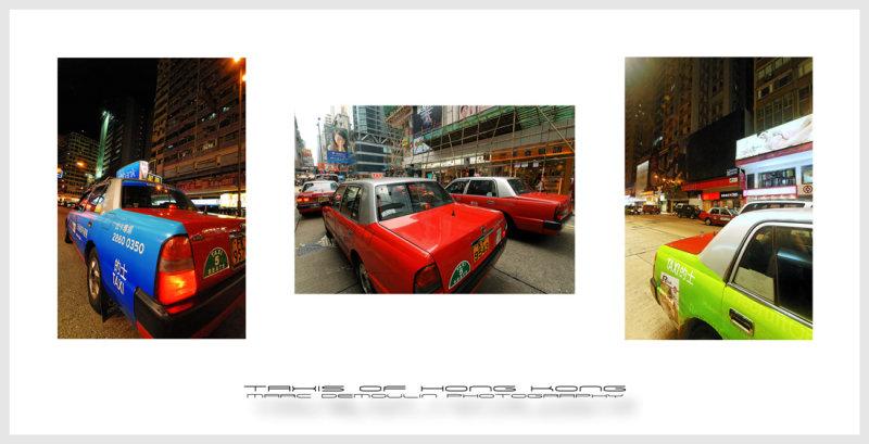 Taxis of Hong Kong